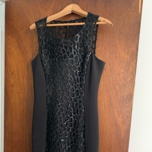 Jessica Simpson little back dress with sequins